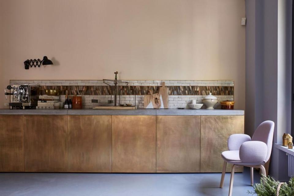 Koper keukendeurtjes - jarmo